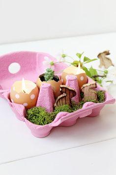 8 schlaue DIY-Ideen, die Sie mit Eierschachteln basteln können! - DIY Bastelideen