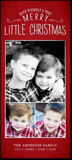 Bright and Blessed - Cheap Christmas Cards in Winterberry Design