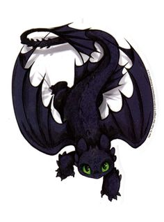 How To Train Your Dragon Toothless Sticker | Hot Topic $3