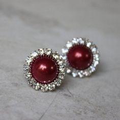 Wine Earrings Wine Bridesmaid Earrings Gift Wine Wedding...