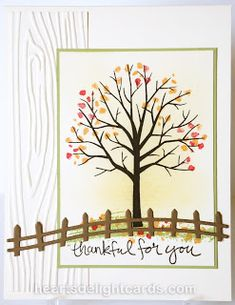 Heart's Delight Cards: Thankful for Autumn SUO158 & SIP67