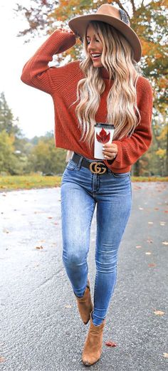 Women Clothing 45 Gorgeous Fall Outfits to Shop Now Vol. 2 / 049 Women ClothingSource : 45 Gorgeous Fall Outfits to Shop Now Vol. 2 / 049 by Mode Outfits, Casual Outfits, Fashion Outfits, Womens Fashion, Jean Outfits, Fashion Ideas, Casual Shoes, 30 Outfits, Casual Jeans