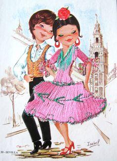 Isabel - Spanish dancers - Savilla