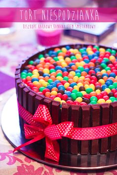 tort urodzinowy Sprinkles, Cereal, Cooking, Breakfast, Party, Gifts, Gift Ideas, Cakes, Birthday Cakes
