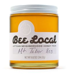 """from the deiline:  """"Bee Local creator Damian places bee hives in various neighborhoods in different cities. The resulting honey from each neighborhood has a different taste profile, texture and color.    """" Last year I met designer Jeremy Ehn of Ideaville (jeremy@ideaville.com), who offered to package and rebrand my hyper-local urban honey business. We wanted a name that captured the essence of the business and packaging that showed off the variety of colors of the honey without being…"""