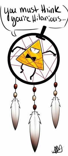 Bill Cipher dream catcher