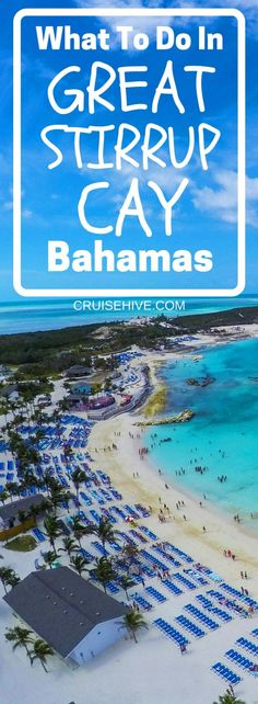 We've done the work on finding all the best things about Norwegian Cruise Line's private island Great Stirrup Cay, Bahamas. Follow these cruise tips and things to do when the cruise ship calls there. #cruise #cruisetips #bahamas #caribbean #destination