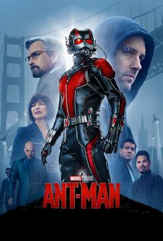 Marvel has released the brand new Ant-Man movie poster -- and we have it for you! Ant-Man, one of the founding members of the Avengers, is the next Marvel superhero movie coming to the big screen. In the movie, Scott Lang (Paul Rudd), Paul Rudd, Ant Man Full Movie, Ant Man Film, Avengers Film, The Avengers, Films Marvel, Marvel Cinematic, Marvel Heroes, Mcu Marvel