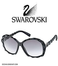 Swarovski Women's Sunglasses - OcchialiGraduati.com #sunglasses #shopping #style #love #sun #summer #fashion #glassesonline #swarovski  http://bit.ly/1jIJgro