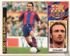 Christophe Dugarry, born 24 March 1972, French international striker, FC Barcelona (1997-1998)
