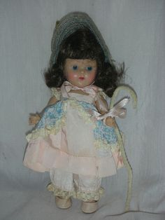 NR Vintage Vogue Ginny 8 inch Strung Doll 1950s High color