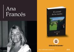 Ana Francés en la Feria del libro Madrid 2015