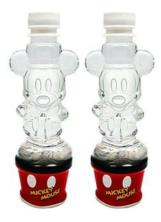 Mock Disney character Mickey Mouse bottled water × 2 this Mickey Mouse Mickey Mouse House, Mickey Mouse Kitchen, Mickey Mouse And Friends, Mickey Minnie Mouse, Disney Kitchen Decor, Disney Home Decor, Disney Crafts, Cozinha Do Mickey Mouse, Mickey Mouse Water Bottle
