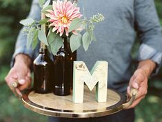 microbrewed wedding inspiration - photo by Lavender and Twine http://ruffledblog.com/microbrewed-wedding-inspiration/
