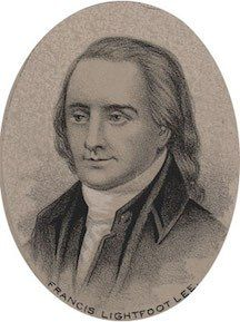 Francis Lightfoot Lee (brother of Richard Henry Lee) was born on the fourteenth of October, 1734, at Stratford Hall plantation in Westmoreland County, Virginia.He was the fourth surviving son of Th…