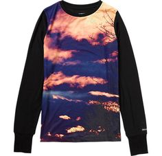 Women's Tech Tee - Burton Snowboards (cloud one and wolf :))