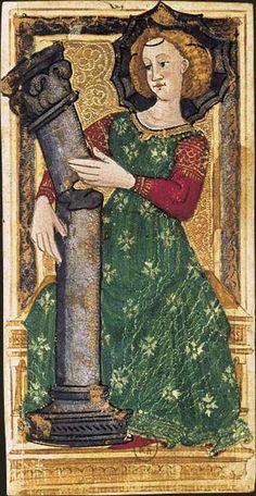 La Force, Tarot dit de Charles VI, fin du XVe siècle, Italie du Nord