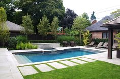 pool  :: Mark Hartley Landscape Architects