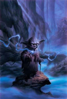 Yoda | STAR WARS ORIGINAL ART | SANDAWORLD.COM | The Art of TSUNEO SANDA