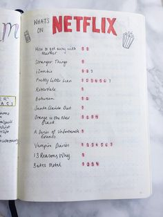 NETFLIX tracker! % doing this!