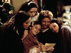 Little Women- I can watch over and over and never grow tired of it. This is a REAL kind of movie