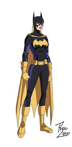 Batgirl: Stephanie Brown by phil-cho on DeviantArt