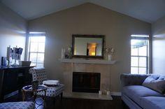 January 2015 Home Tour Fireplace Room