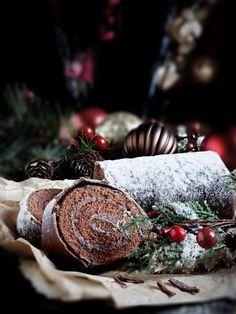 Bûche au chocolat facile : Recette de Bûche au chocolat facile - Marmiton