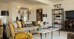 Champalimaud Interiors /   The Carlyle Hotel New York
