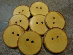 8 Maple Tree Branch Buttons.  Just Over 1.50 by PymatuningCrafts, $7.20