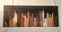 We use reclaimed materials to handcraft each Skyline, resulting in a wonderfully unique, beautiful, and fun piece. Due to the nature of reclaimed wood, and the fact that each piece is individually crafted, no two are exactly alike. And we think thats pretty cool. If the city you would like isnt listed, then send an email to create@legacybuilding.com and we will create your custom skyline! Thank you for supporting our company and our vision!  Team Legacy