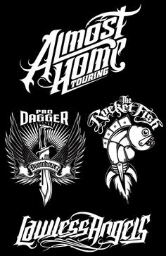 Various Typography & Logos 1 Typography Logo, Lettering, Logos, Pale Horse, Beautiful Images, Digital Art, Darth Vader, Horses, Illustrations