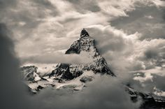 Matterhorn Dreams by Marcel Ilie on 500px Amazing Photography, Art Photography, Up To The Sky, National Geographic Photos, Cosmos, Wander, Marcel, Beautiful Pictures, Clouds
