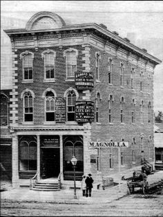 The Kansas City Savings Association, organized in 1865 with a capital of $10,000, became a very successful bank that grew with the city. It opened in this building at Second and Main Streets, a long block from the riverfront. Today, we know the institution as the Bank of Commerce, a name it took in 1885.