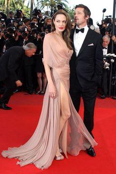 Jolie und Pitt 2009 in Cannes, Frankreich sollte zu ihrer zweiten Wahlheimat werden. Dort besitzt das Paar ein Weingut