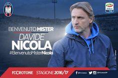 UFFICIALE: Nicola nuovo allenatore del Crotone - http://www.maidirecalcio.com/2016/06/23/crotone-nicola-nuovo-allenatore.html