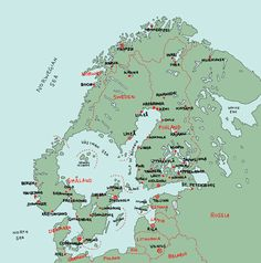 Alternative Scandinavia that got separated by a massive meteorite impact Imaginary Maps, Ancient Egypt Art, Fantasy Map, Alternate History, Fantasy Setting, Fantasy Illustration, Cartography, Wallpaper S, Drawing S
