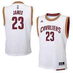 25b11d42f4b LeBron James Cleveland Cavaliers  23 NBA Youth Home Jersey White Lebron  James Cleveland
