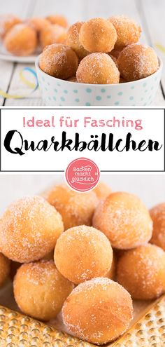 Quark balls – everyone loves quark balls! Quark balls are actually a classic for children at Mardi Gras – cake cake recipes Quark balls – everyone loves quark balls! Quark balls are actually a classic for children at Mardi Gras – cake cake recipes Baking Recipes, Cake Recipes, Dessert Recipes, Drink Tumblr, Happy Diet, Soup Company, Smoothie Detox, Breakfast Smoothies, Cheese Ball