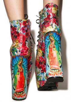Iron Fist Like A Virgin Boots Crazy Shoes, Me Too Shoes, Emo Fashion, Fashion Shoes, Moda Lolita, Victoria's Secret, Iron Fist, Rubber Rain Boots, Footwear