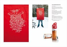 "Design Company: ""CHRISTMAS MAILER 2009"" Design & Branding  by Taxi Studio Bristol"