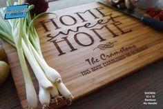 Personalized Cutting Board, Custom Engraved  - Wedding Gift, Anniversary Gift, Housewarming Gift