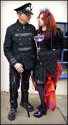 Like no one else was there | Flickr - Photo Sharing! At the Whitby Goth Weekend