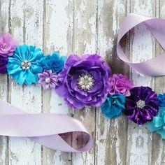 baby shower purple and aqua - Google Search