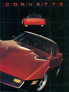 1981 Chevrolet Corvette, my daddy had a yellow one and i loved it!