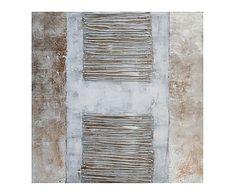 Cuadro de madera DM Abstracto - 100x100 cm