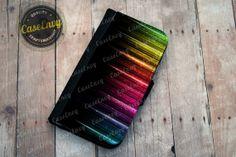 Techy Beautiful Rainbow Samsung Galaxy S4 Wallet case by CaseEnvy, $22.00