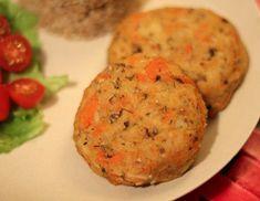 Kotleciki warzywno - pieczarkowe | Zdrowe przepisy Pauliny Styś