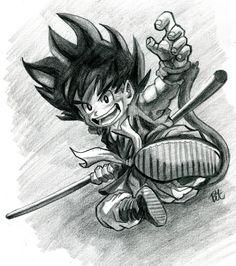 How to draw Goku Chibi?