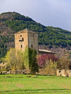 torre de larbesa - jaca - huesca - españa